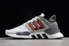 5d6882c04f6c2 adidas Originals EQT Support 91 18 White Grey Black Red B37521