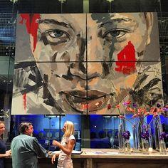 @delairegraff Instagram Posts, Artist, Painting, Artists, Painting Art, Paintings, Painted Canvas, Drawings