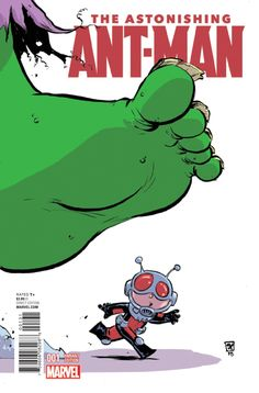 The Astonishing Ant-Man #1 - Young variant (Issue)