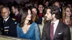 Princess Sofia and Prince Carl Philip attends Christmas concert