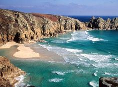 """Cornwall, England. This is not my picture, but yes, I have trekked this very path towards the area called """"Lands End."""""""