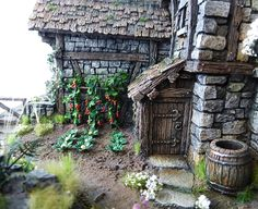 Converted Building by Simone Pohlenz Medieval Houses, Painting Competition, Fantasy City, Halloween Displays, Medieval Fantasy, City Buildings, Story Inspiration, Model Homes, Scenery