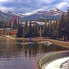 Breckenridge. Colorado  Brody and I were here on Wednesday and it was so fun--love Breckenridge!