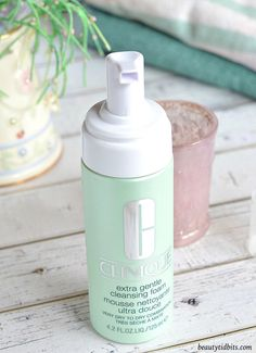 NEW from Clinique! Extra Gentle Cleansing Foam - http://www.2016hairstyleideas.com/beauty/new-from-clinique-extra-gentle-cleansing-foam.html