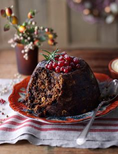 Classic Christmas Pudding With Brandy Butter (1) From: Sandsbury's Magazine, please visit