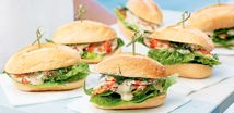 Prawn Cocktail Sliders. Try this modern twist on the classic prawn cocktail.