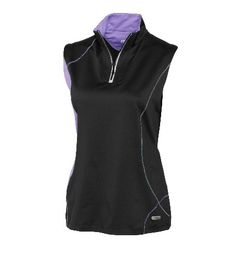 Mrs Golf - Ladies Golf Apparel, Shoes, Accessories - Cutter & Buck Annika Iris Sleeveless Drytech Iris Mock