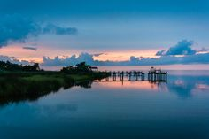 Sunset at Horsepen Point.  Richard Rodriguez