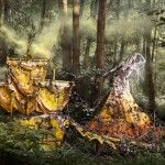 The Wonderland Book: Photographer Kirsty Mitchell Honors Her Mother Through Lavish Conceptual Portraits