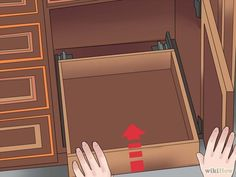 Comment installer des étagères tiroirs coulissant cuisine