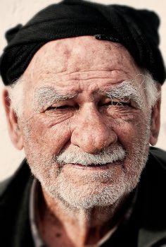 Cretan, old guy, beard, wrinckles, lines of life, powerful face, intense eyes, lovely, portrait