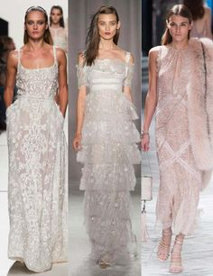 I hope I remember to look at there when I get Married!  Best bridal looks from the spring/summer 2014 catwalks | ELLE UK