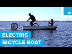 Can this electric bicycle wheel power a boat? | Internet Marketing