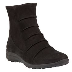 Gabor Irma Confortable Bottines En Nubuck Noir 9 BLACK WBBUSj