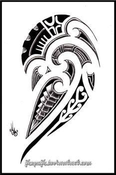 DeviantArt: More Like Maori tattoo shoulder design by MaoriTattoo