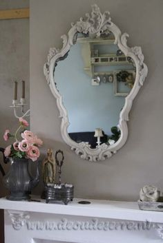 Brocante Wonen - dOude Serre - Grote Spiegel
