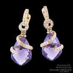 Bellarri gold earrings from Pearlman's Jewelers