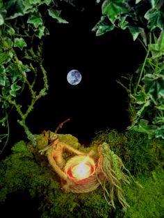 God and goddess by moonlight designed & handmade by positivelypagan.com