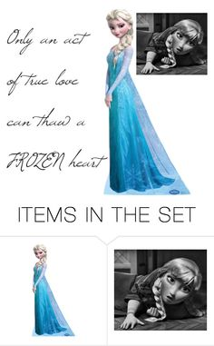 """Frozen quotes #1"" by rockyshorgirl ❤ liked on Polyvore featuring art"