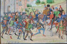 « Chroniques sire JEHAN FROISSART » Date d'édition :  1401-1500  Français 2644 Folio 265r