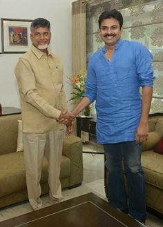 Pawan Kalyan Meets Chandra babu Naidu at His Home Telugu Desam Party, Shiva, Meet, God, Style, Dios, Swag, Stylus, Praise God