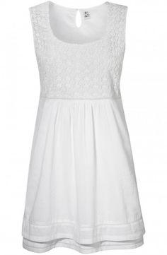 Ines Dress White