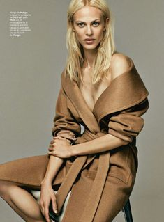 Aymeline Valade by Damon Baker for S Moda August 2014 | The Fashionography