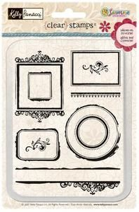 *Sandylion Clear Stamps FRAMES Picture KSTP16