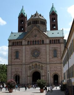 The Imperial Cathedral Basilica of the Assumption and St Stephen in Speyer, Germany