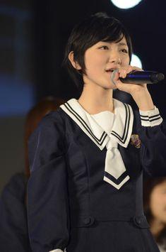 乃木坂46 (nogizaka46) Ikoma Rina (生駒里奈) Girl Group, Idol, Singer, Actresses, Navy, Beautiful, Female Actresses, Hale Navy, Singers
