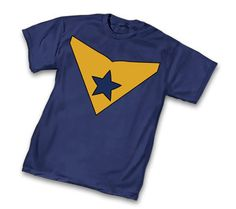 DC Comics t-shirt with the Booster Gold Symbol,