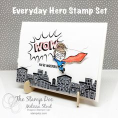 Everyday Hero by Stampin' UP!