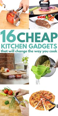 Must-Have Kitchen Gadgets And Tools That Have Changed My Life! I used to hate cooking and it was a tedious time-consuming task. Now that I have the right products and appliances it's become my favorite thing to do! Smart Kitchen, Kitchen Hacks, Cheap Kitchen, Kitchen Ideas, Kitchen Storage, Kitchen Organization, Life Kitchen, Kitchen Art, Kitchen Interior
