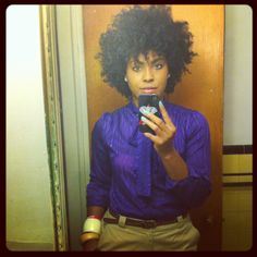 Love her style! #naturalhair