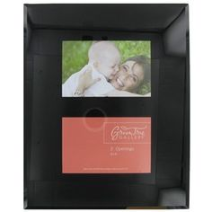 6 x 4 black glass photo frame with beveled edge tree gallerygallery