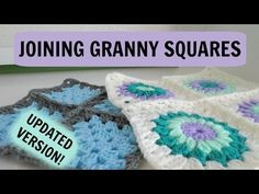 How to Join Normal and Starburst Granny Squares! - YouTube