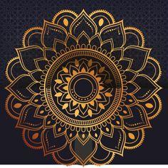 Mandala, Pattern Flower, Cards, Vector Background, Wedding, Beautiful, Collection, Luxury, Tatoo