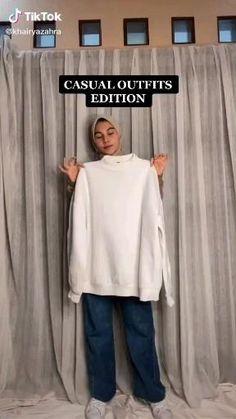 Stylish Hijab, Modest Fashion Hijab, Modern Hijab Fashion, Street Hijab Fashion, Casual Hijab Outfit, Hijab Fashion Inspiration, Modesty Fashion, Muslim Fashion, Look Fashion
