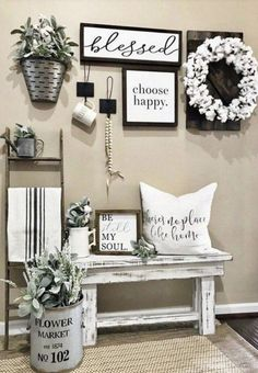 20 Incredible Hacks For Rustic Home Decor 1 Simple House Number - Farmhouse Decoration Country Decor, Rustic Decor, Country Chic, Country Interior, Modern Decor, Modern Coastal, Cheap Home Decor, Diy Home Decor, Decor Crafts