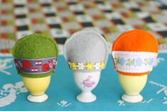 How To: Felt Egg Cozy | My Poppet Makes