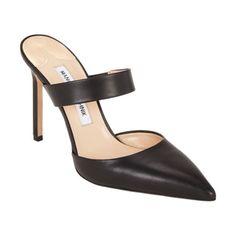 Manolo Blahnik Trovina Mules mm) - love the look hard to walk in. Yoga Sculpt, Manolo Blahnik Heels, Barneys New York, Go Shopping, Lanvin, Designer Shoes, Me Too Shoes, Christian Louboutin, Pumps