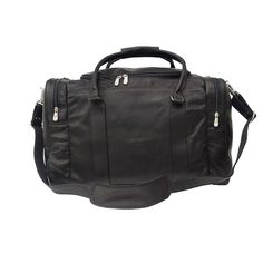 Piel Leather Classic Weekend Carry On 2509 - Chocolate Leather Overnight Bags Best Luggage, Travel Luggage, Luggage Bags, Leather Overnight Bag, Overnight Bags, Shoulder Gym, Leather Bag, Black Leather, Lightweight Luggage