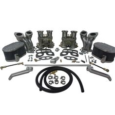 Type 1, Dual IDF Carburetor kit W/ CB manifolds & linkage