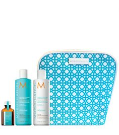 Moroccanoil The Volume Collection Set Neceser: Shampoo (250ml) + Conditioner (250ml) + Treatment (25ml)
