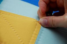 Hand quilting. If I'm ever brave enough.