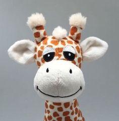 A sneaky peek at Gerry the Giraffe plush toy.