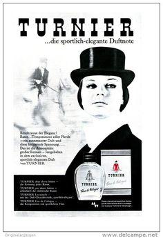 Original-Werbung/ Anzeige 1966 - 1/1-SEITE - TURNIER EAU DE COLGNE - ca. 150 x 230 mm