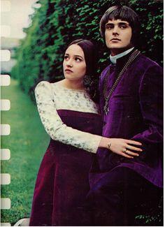 Finnfemme: Olivia Hussey & Leonard Whiting 1968 Fashion