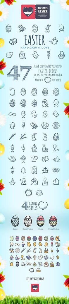 Easter Icons - Good Stuff No Nonsense