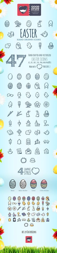 Easter Icons - Good Stuff No Nonsense